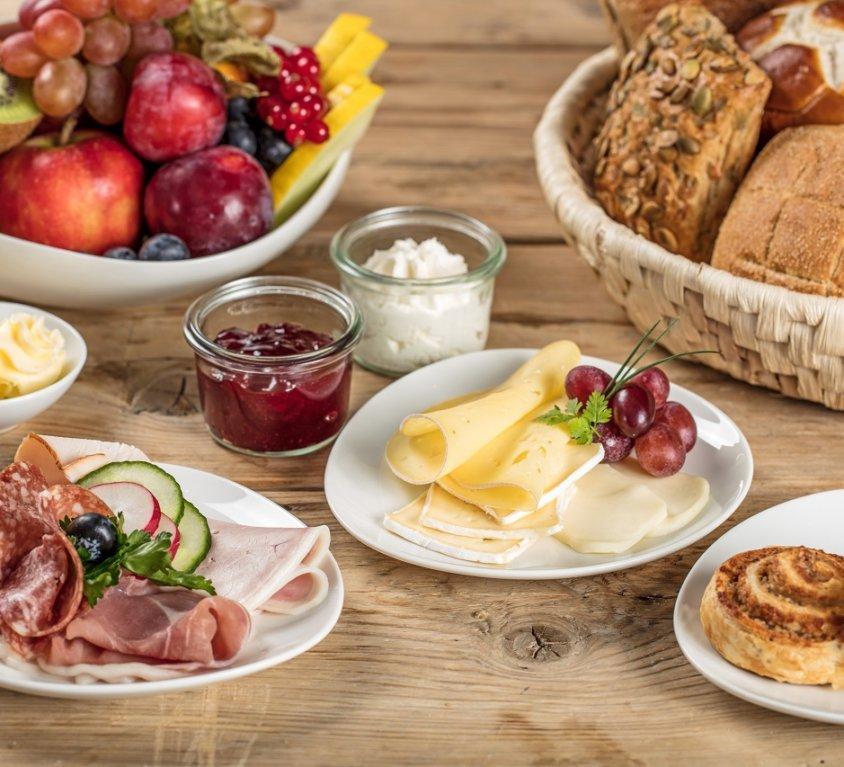 Frühstück-Menüs